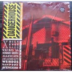 Various – Dangerhouse Volume One LP (damaged sleeve)