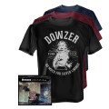 Dowzer - So Much For Silver Linings CD + T-Shirt bundle (Pre-order)