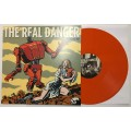 The Real Danger - Down and out LP - 1st press Orange/100