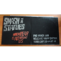 Smash the Statues - When fear is all around us LP Pre-order/release show sleeve