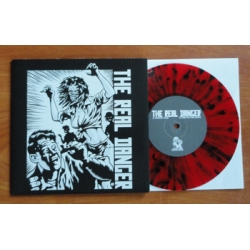 The Real Danger - Some day soon 7 inch Limited Red with black vinyl