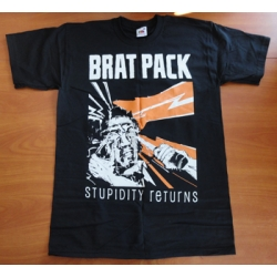 "Brat Pack ""Stupidity Returns"" Shirt"