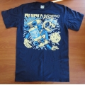 "Shield Recordings ""Alien"" Shirt (blue print)"