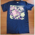 "Shield Recordings ""Alien"" Shirt (pink print)"