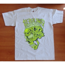 "The Real Danger ""Skull"" Shirt (yellow print)"
