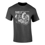 Shield Recordings T-shirt (Dark Grey)