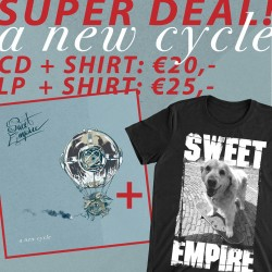 Sweet Empire - A New Cycle CD or LP + T-Shirt Bundle (Pre-order)